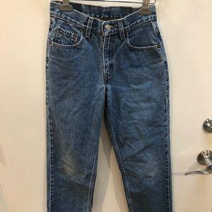 Levi's 550 jeans!